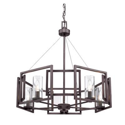 Most Current Siddharth 6 Light Kitchen Island Pendant Inside Wightman Drum Chandeliers (View 12 of 30)