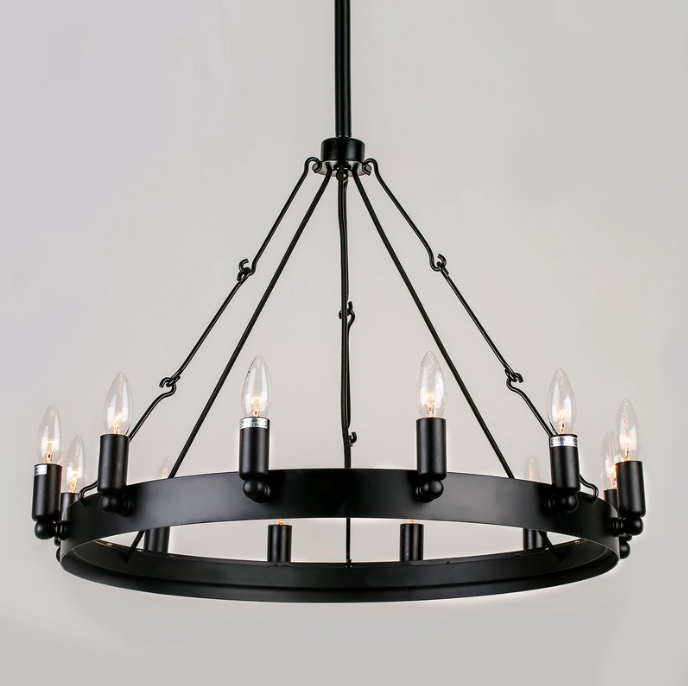 Most Current Varnum 4 Light Lantern Pendants In Restoration Hardware Chandelier Look Alikes For Less (View 16 of 30)