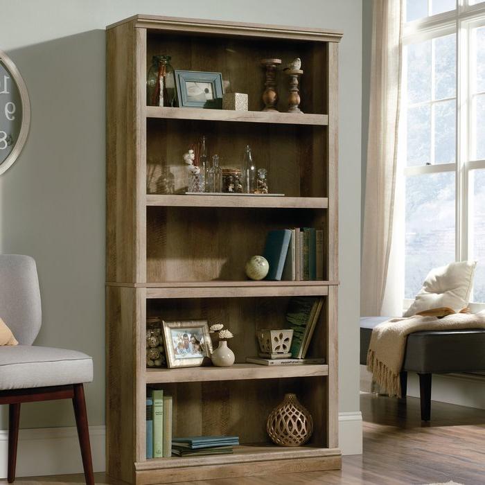 Most Popular Abigail Standard Bookcase Intended For Abigail Standard Bookcases (Gallery 2 of 20)