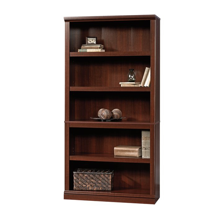Most Popular Abigail Standard Bookcase Regarding Cerrato Standard Bookcases (View 20 of 20)