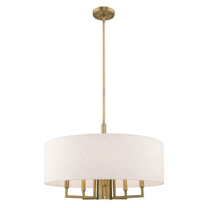Most Popular Alina 6 Light Drum Chandelier With Regard To Breithaup 7 Light Drum Chandeliers (View 11 of 30)