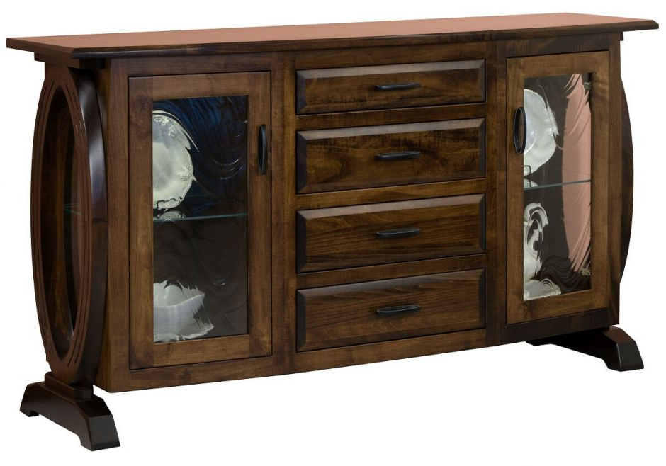 Most Popular Armelle 4 Drawer Sideboard Intended For Armelle Sideboards (View 13 of 20)