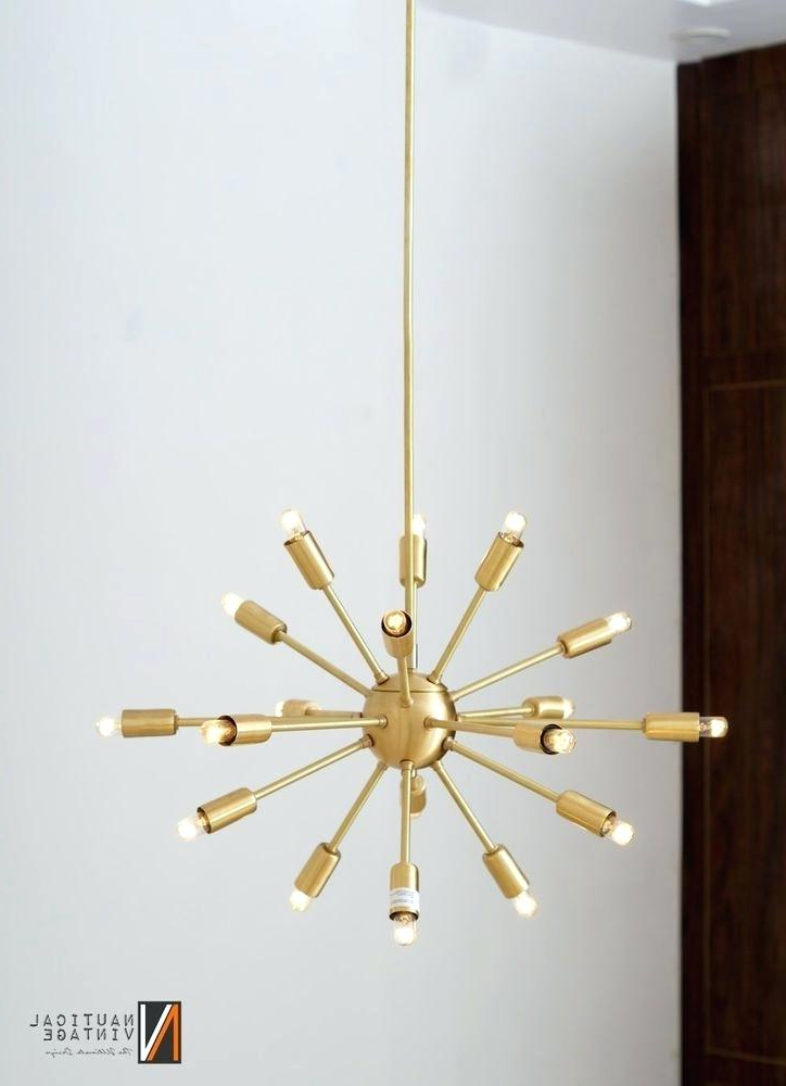 Most Popular Defreitas 18 Light Sputnik Chandeliers Intended For Sputnik 18 Light Chandelier (Gallery 15 of 30)