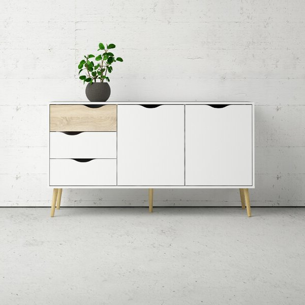 Most Popular Dowler 2 Drawer Sideboards With Regard To 2 Drawer Sideboard (View 15 of 20)