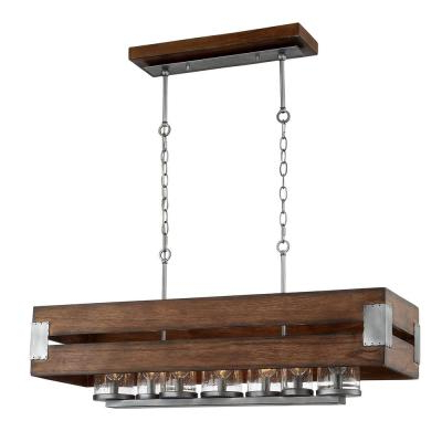 Most Popular Farmhouse – Chandeliers – Lighting – The Home Depot For Kenna 5 Light Empire Chandeliers (Gallery 26 of 30)