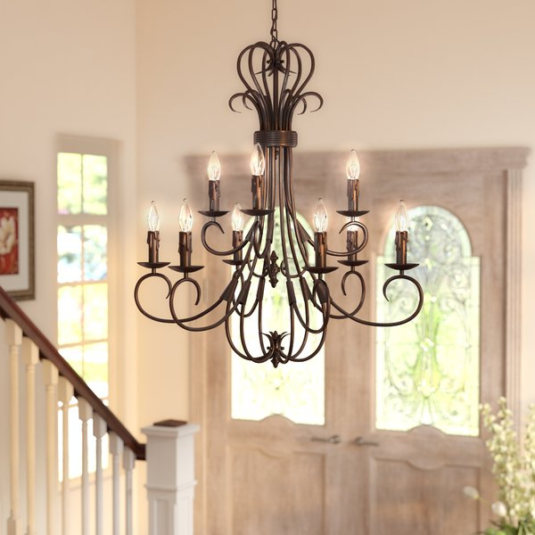 Most Popular Gaines 9 Light Chandelier (View 2 of 30)
