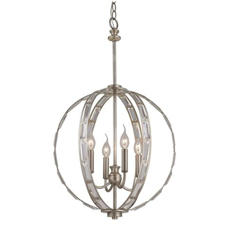 Most Popular Hendry 4 Light Globe Chandeliers Within Pinterest – Пинтерест (View 13 of 30)