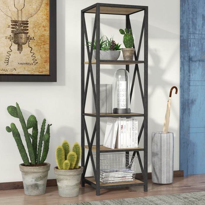 Most Popular Hitz Etagere Bookcases Within Augustus Etagere Bookcase (Gallery 20 of 20)