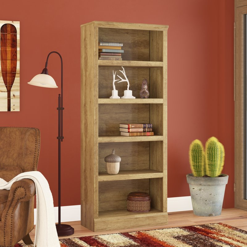 Most Popular Kayli Standard Bookcase Pertaining To Kayli Standard Bookcases (Gallery 2 of 20)