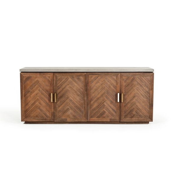 Most Popular Lebrun Sideboard For Keiko Modern Bookmatch Sideboards (View 9 of 20)