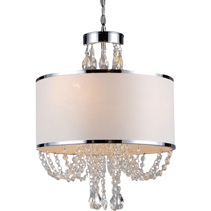 Most Popular Lindsey 4 Light Drum Chandeliers Intended For Gaspard 4 Light Chandelier (Gallery 16 of 30)