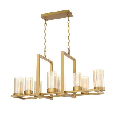 Most Popular Millbrook 5 Light Shaded Chandeliers With Hardwired – Brass – Integrated Led – Chandeliers – Lighting (Gallery 20 of 30)