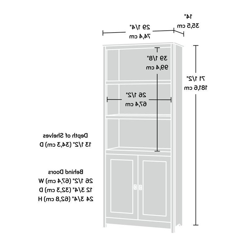 Most Popular Myrasol Standard Bookcases Intended For Myrasol Standard Bookcase (Gallery 8 of 20)