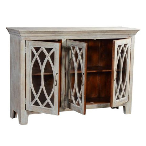 Most Popular Palisade Sideboards Throughout Buffet With Glass Doors – Skivviebox (View 12 of 20)