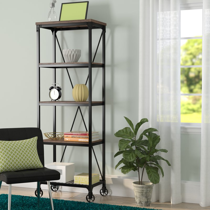 Most Popular Rocklin Etagere Bookcases With Kilmersdon Etagere Bookcase (Gallery 20 of 20)