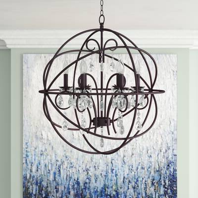 Most Recent Alden 6 Light Globe Chandeliers Intended For Alden 4 Light Globe Chandelier (View 6 of 30)