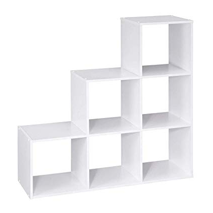 Most Recent Amazon: Cubeicals Organizer 6 Cube Bin Shelf Open In Decorative Storage Cube Bookcases (Gallery 6 of 20)