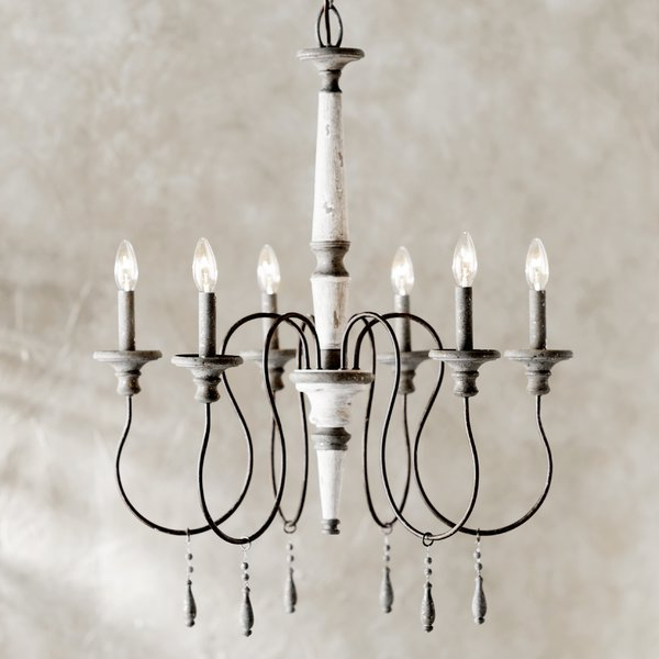 Most Recent Armande Candle Style Chandelier Regarding Armande Candle Style Chandeliers (View 24 of 30)