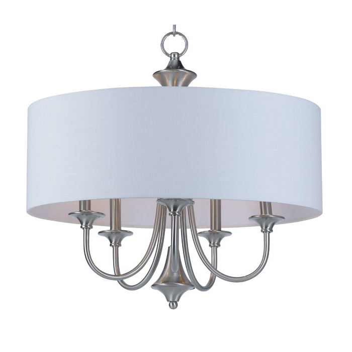 Most Recent Buster 5 Light Drum Chandeliers Regarding Wadlington 5 Light Drum Chandelier (Gallery 28 of 30)