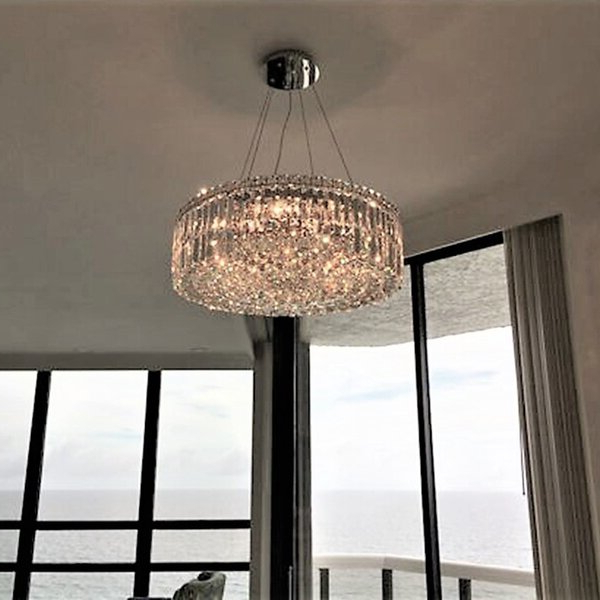 Most Recent Filipe Globe Chandeliers Regarding Anjali Glam 12 Light Chandelier (View 19 of 30)