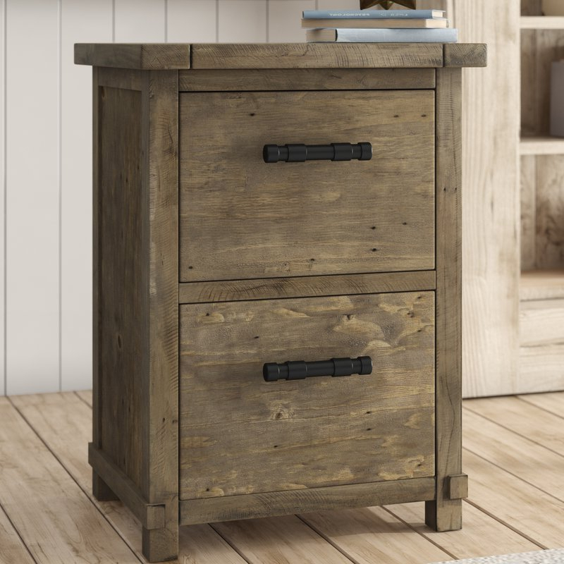 Most Recent Gertrude 2 Drawer Vertical Filing Cabinet Pertaining To Gertrude Sideboards (View 11 of 20)