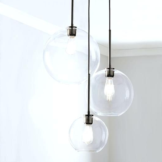 Most Recent Globe Light Chandelier Ceiling – Happypenguin (View 22 of 30)