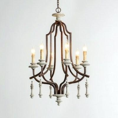 Most Recent Hatfield 3 Light Novelty Chandeliers With Regard To Metal And Wood Chandelier – Michaeljhouser (View 20 of 30)