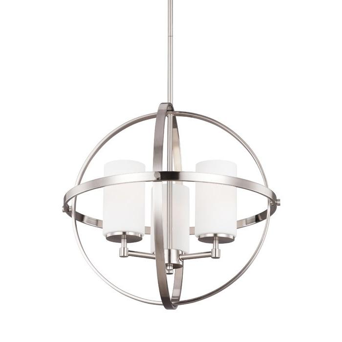 Most Recent Hendry 4 Light Globe Chandeliers Intended For Raine 3 Light Globe Chandelier (View 16 of 30)