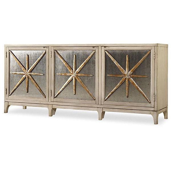 "Most Recent Hooker Furniture Stella 80"" Metallic Star Sideboard Buffets Regarding Stella Sideboards (View 4 of 20)"