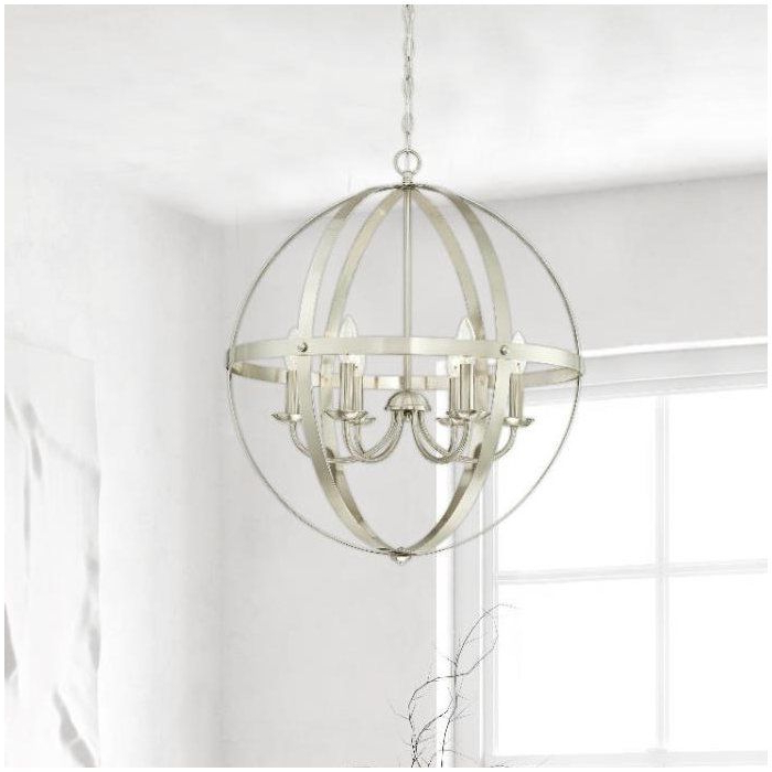 Most Recent Joon 6 Light Globe Chandeliers Regarding Joon 6 Light Globe Chandelier (View 20 of 30)