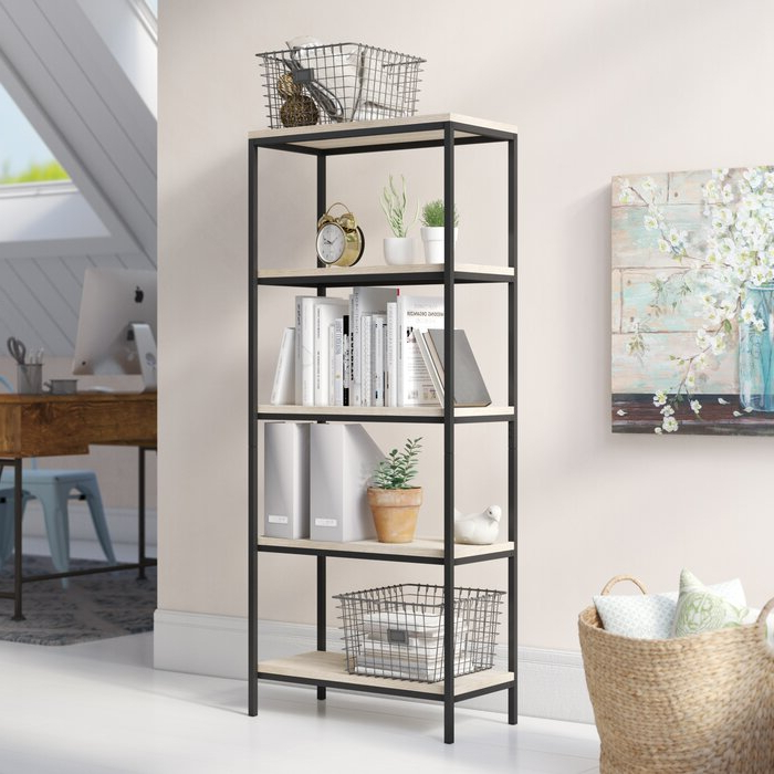 Most Recent Laurel Foundry Modern Farmhouse Ermont Etagere Bookcase With Ermont Etagere Bookcases (View 7 of 20)