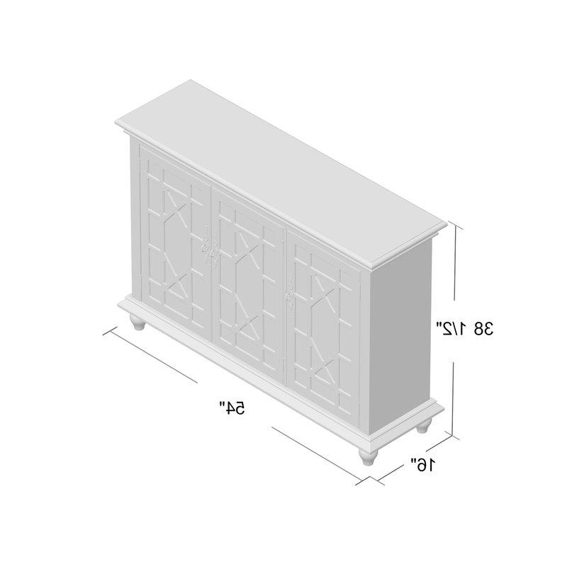 Most Recent Mauldin 3 Door Sideboards With Mauldin 3 Door Sideboard (View 14 of 20)