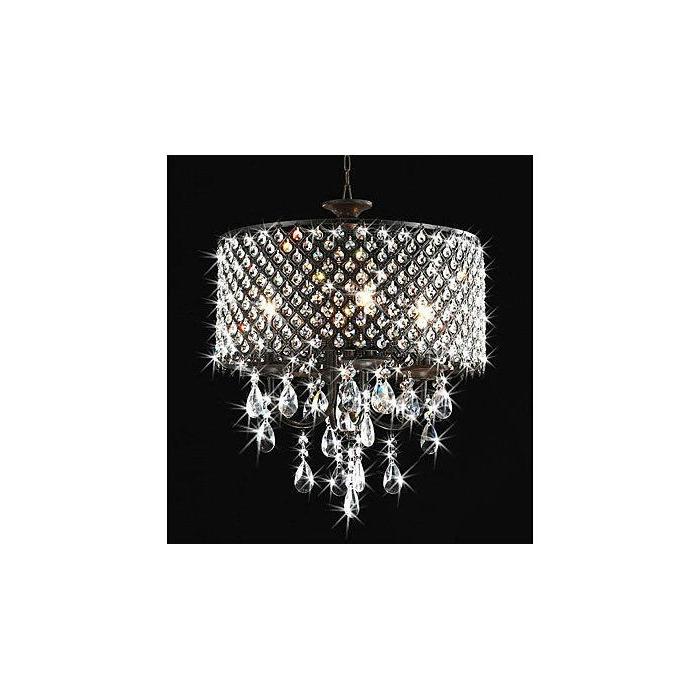 Most Recent Mckamey 4 Light Crystal Chandelier Throughout Mckamey 4 Light Crystal Chandeliers (View 3 of 30)