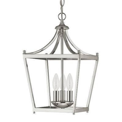 Most Recent Mount Airy 4 Light Flush Mount Pertaining To Gabriella 3 Light Lantern Chandeliers (Gallery 15 of 30)