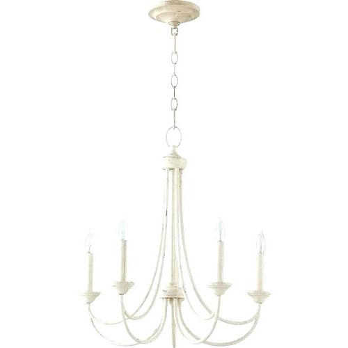 Most Recent Off White Washed Wood Chandelier – Madanistones For Corneau 5 Light Chandeliers (View 30 of 30)
