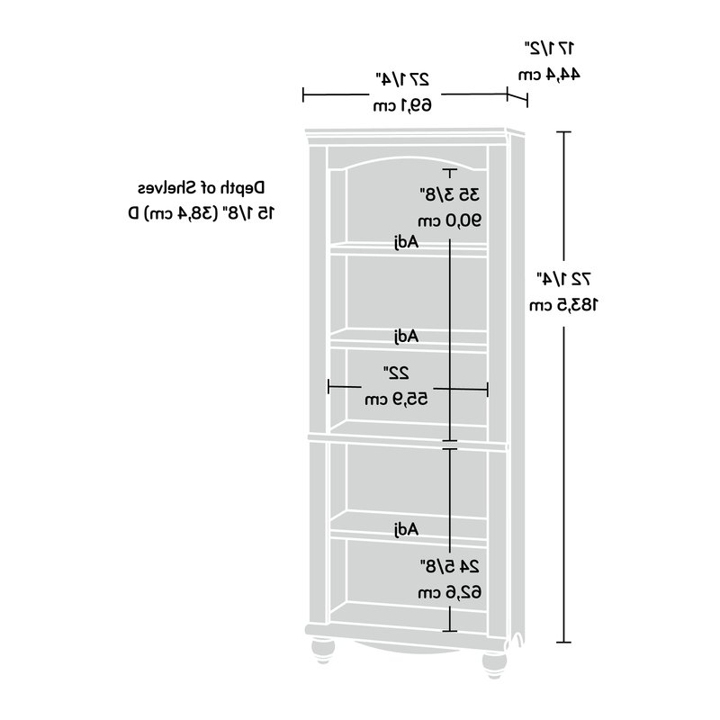 Most Recent Pinellas Standard Bookcases For Pinellas Standard Bookcase (View 9 of 20)