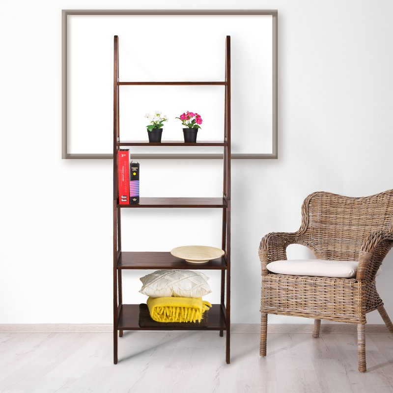 Most Recent Ranie Ladder Bookcase Within Ranie Ladder Bookcases (Gallery 8 of 20)