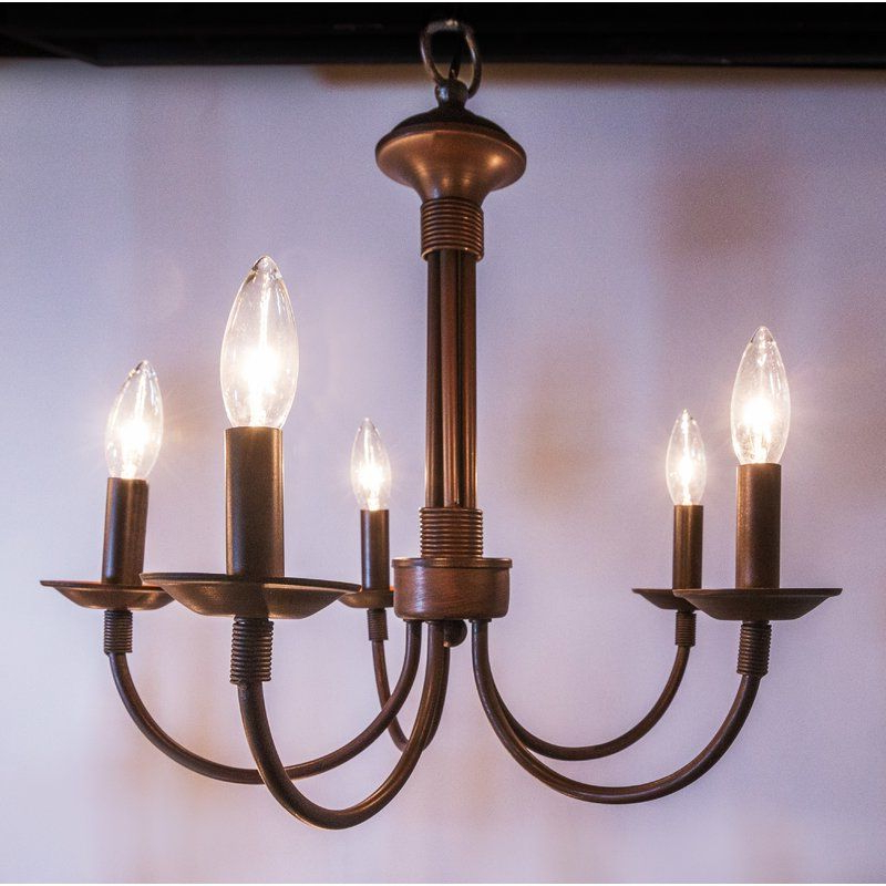 Most Recent Shaylee 5 Light Candle Style Chandelier (Gallery 13 of 30)