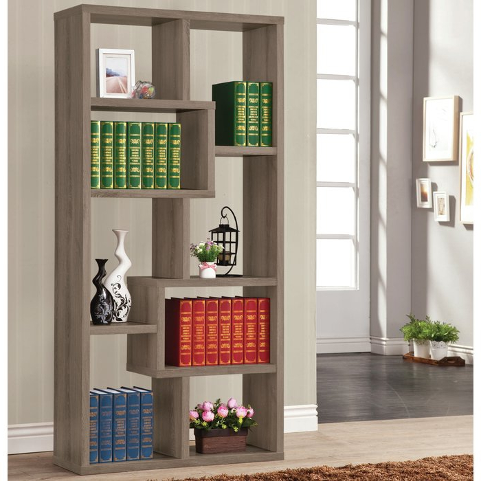 Most Recent Skaggs Geometric Bookcases With Skaggs Geometric Bookcase (Gallery 2 of 20)