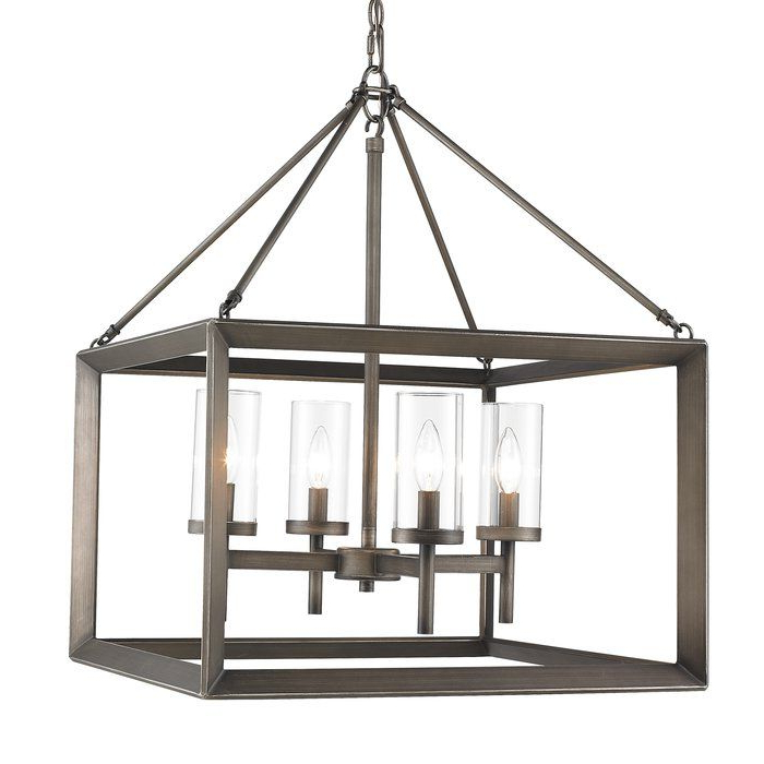 Most Recent Thorne 4 Light Lantern Pendant (Gallery 7 of 30)