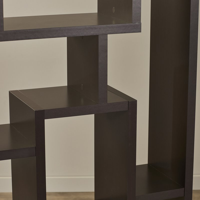 Most Recent Vaccaro Geometric Bookcases For Vaccaro Geometric Bookcase (Gallery 9 of 20)
