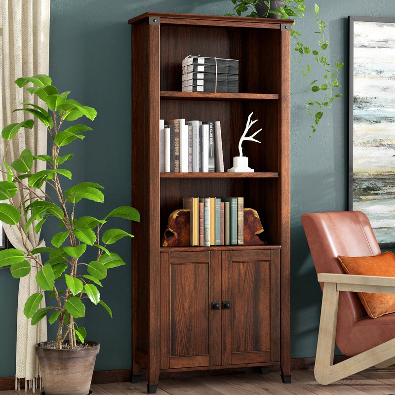 Most Recent Walworth Standard Bookcases Regarding Chappel Standard Bookcase (Gallery 14 of 20)