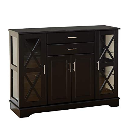 Most Recently Released Amazon – Transitional 631687 Kendall Buffet 1 Piece Within Kendall Sideboards (View 14 of 20)