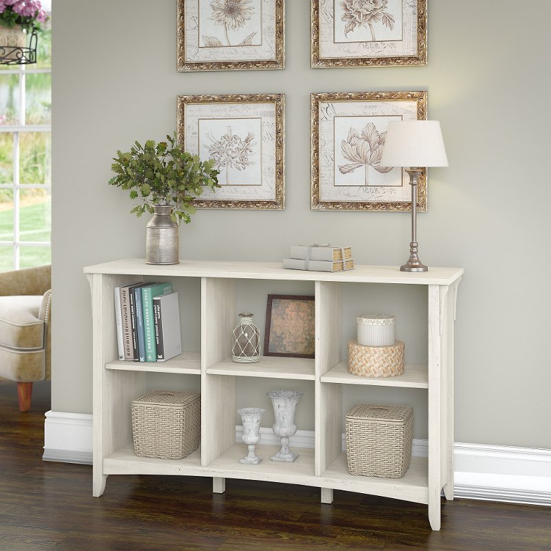 Most Recently Released Antique White 6 Cube Organizer – Salinas Throughout Broadview Cube Unit Bookcases (View 13 of 20)