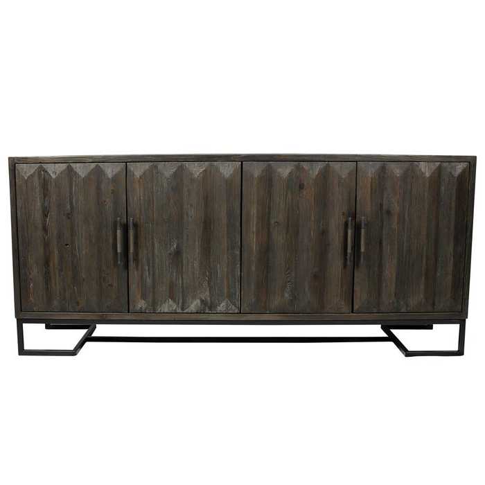 Most Recently Released Binney Powell 4 Door Sideboard Within Sideboards By Foundry Select (View 8 of 20)