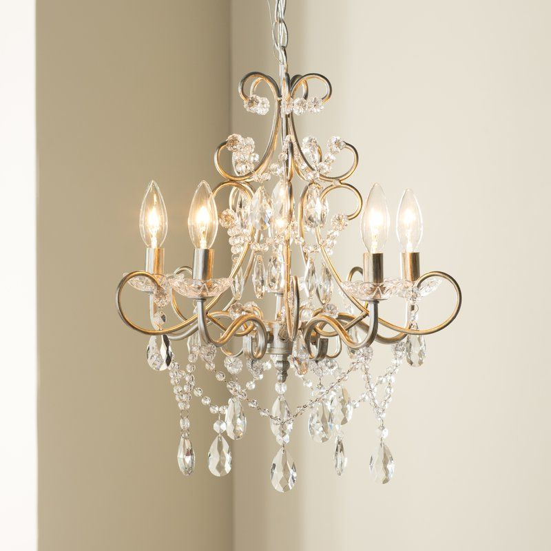 Most Recently Released Blanchette 5 Light Candle Style Chandeliers Intended For Blanchette 5 Light Candle Style Chandelier In  (View 22 of 30)