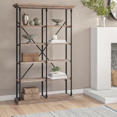 Most Recently Released Bowman Etagere Bookcases Regarding Laurel Foundry Modern Farmhouse Celestia Etagere Bookcase In (Gallery 14 of 20)