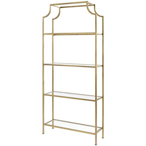 Most Recently Released Buchanan Etagere Bookcases Within Etagere Bookcase: Amazon (View 17 of 20)