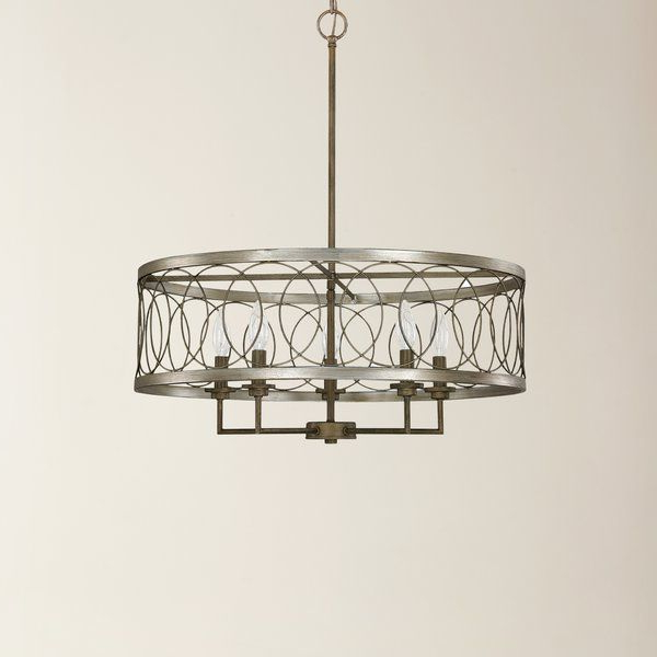Most Recently Released Cliffside 5 Light Drum Chandelier (View 22 of 30)
