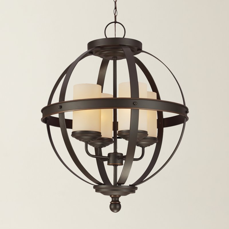 Most Recently Released Donna 4 Light Globe Chandelier With Donna 6 Light Globe Chandeliers (Gallery 7 of 30)